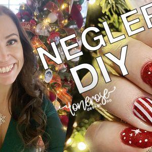 Julenegler // DIY // VIDEO // Christmas nails