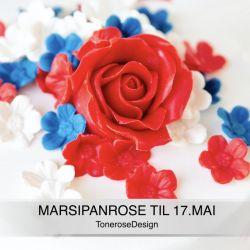 DIY Marsipanrose til 17. Mai // VIDEO