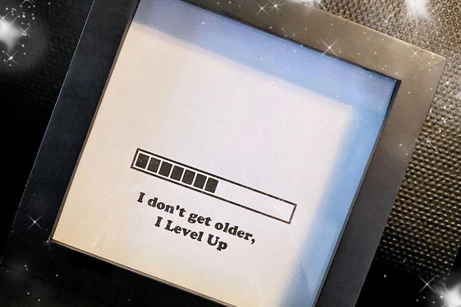 Gaming-rom // Gratis print // I don´t get older, I level up