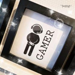 Gamer // Gaming-rom // Gratis print