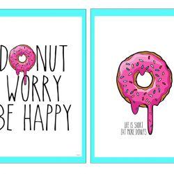 Donut - postere // 2x Gratis print