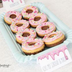 Super-enkel idè til Donut-Party // Pynte kjeks