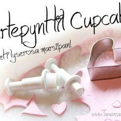 Hvordan lage Hjertepynt til Cupcakes {Trinn-for-trinn}
