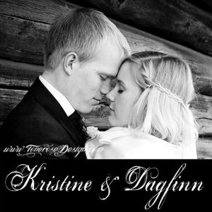 Bryllupsfotografering Kristine & Dagfinn {Bildedryss}