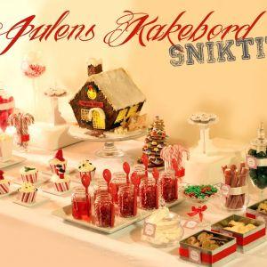 Julens Kakebord – en liten sniktitt
