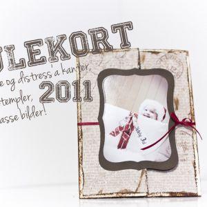 Julekort 2011 ♥