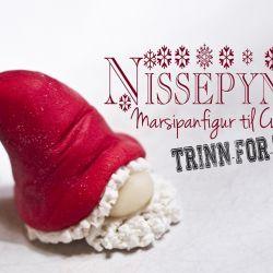 Hvordan lage Nissepynt til Cupcakes {Trinn-for-trinn}
