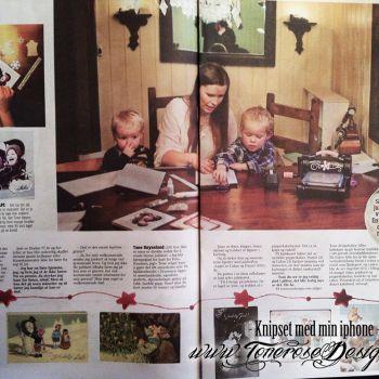 Julekort i VG