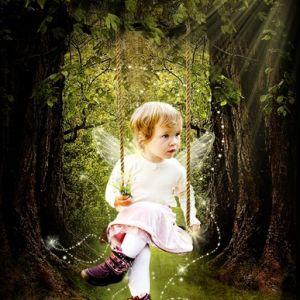 Bildemanipulasjon - herlige lille feen ♥