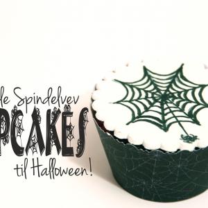 Enkle Cupcakes til Halloween – tegn på pynten!