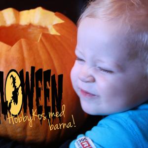 HalloweenKos med barna! Gresskarutskjæring ♥