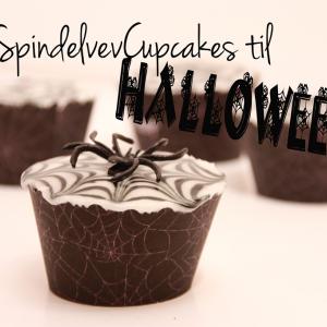 Halloween – SpindelvevCupcakes på 1-2-3!