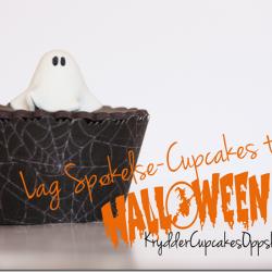 Søte Spøkelse-Cupcakes til Halloween! Oppskrift KrydderCupcakes