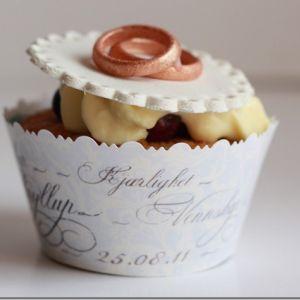 VaniljeCupcakes // Cupcakes til diamantbryllup ♥