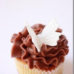 Deilige cupcakes med iskrem i deigen! Oppskrift