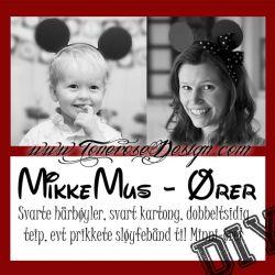 MikkeMus-ører {DIY}
