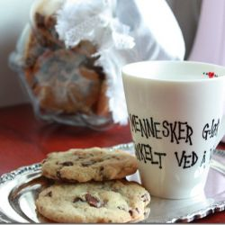 Himmelske amerikanske chocolate chip cookies! Oppskrift