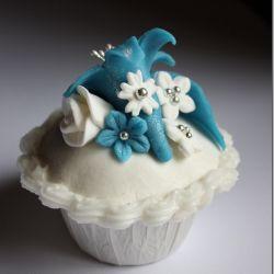 Cupcakes! – og oppskrift på marshmellowsfondant, mmf