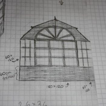 Bygge drivhus selv, del 1 – tegninger og idèmyldring
