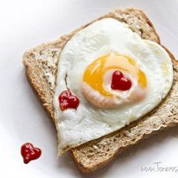 Søt frokost - til søndagsmorgenen eller Valentines Dag!