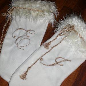 Julestrømper - homemade Christmas Stockings!