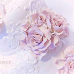 Blomsterkurs 1 {Kakepyntkurs} Kurs i klassiske håndlagede blomster
