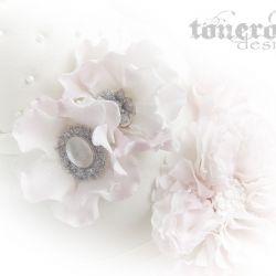 Blomster med bling ♥