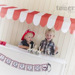 Iskrem i søte cupcakeformer { Tips til Barnebursdag }