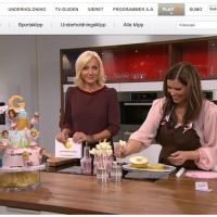 { God morgen Norge TV2  // Sweet table  // behind-the-scenes }