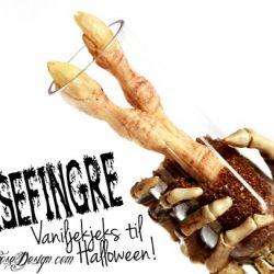 Imponèr med superstilige Heksefingre-Vaniljekjeks til Halloweeen! { Reblogging }