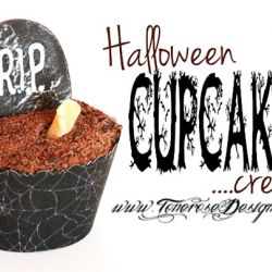 Creepy HalloweenCupcake { Reblogging }