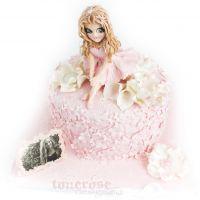 { ballerina-kake til konfirmasjon }