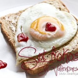 Søt frokost til ValentinesDag { reblogging }