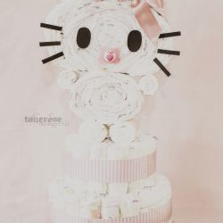 { DIY // bleiekake // Hello Kitty }