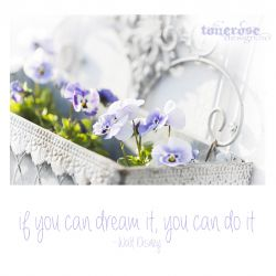 { if you can dream it, you can do it }