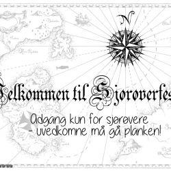 { sjørøverbursdag // flaskepost // gratis nedlasting }