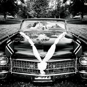 { bryllupsfotografering // vintage bil }