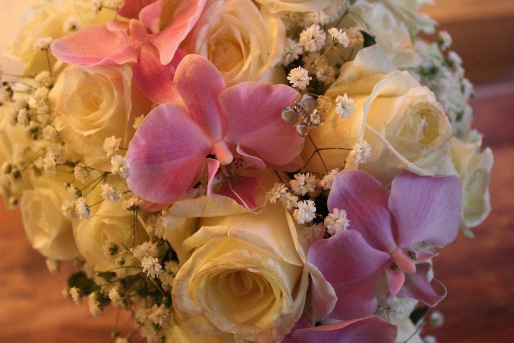 blomster barnedåp bryllup