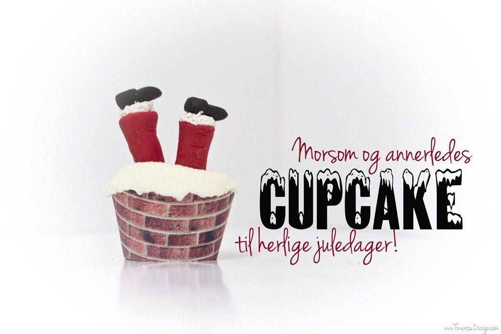 julecupcake julenissebein diy jul cupcakes