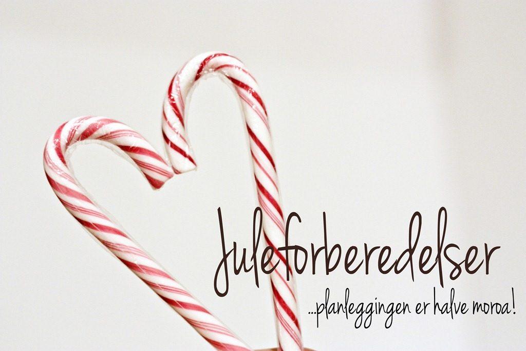 juleforberedelser juleinspirasjon jul