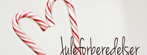 Juleforberedelser og planlegging ♥