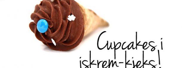 Cupcakes i iskrem-kjeks {Tips til Barnebursdag}