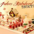 kakebord jul julaften julekaker