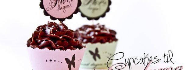 Cupcakes til Morsdagen ♥