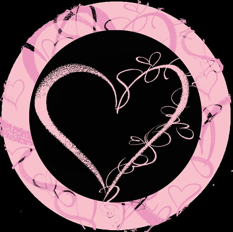valentines dag merkelapper svart m litt rosa uten tekst[3]