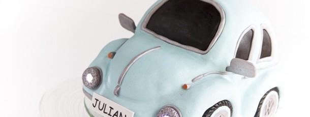Bilkake – utskjært kake i form av en boble! {Inspirasjon Julians Dåp} Del 2