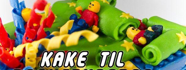 Kake til barnebursdag – en sniktitt!