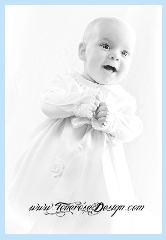 tips til dåpsbilde takkekort barnedåp