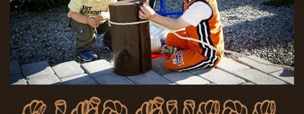 Gutta mekker istand til sjørøverbursdag…