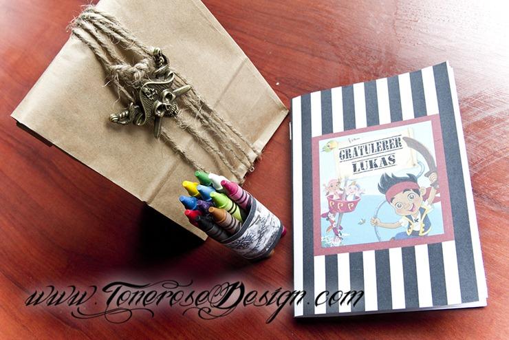 Sjørøver bursdag - pirat - dekor - tips - inspirasjon